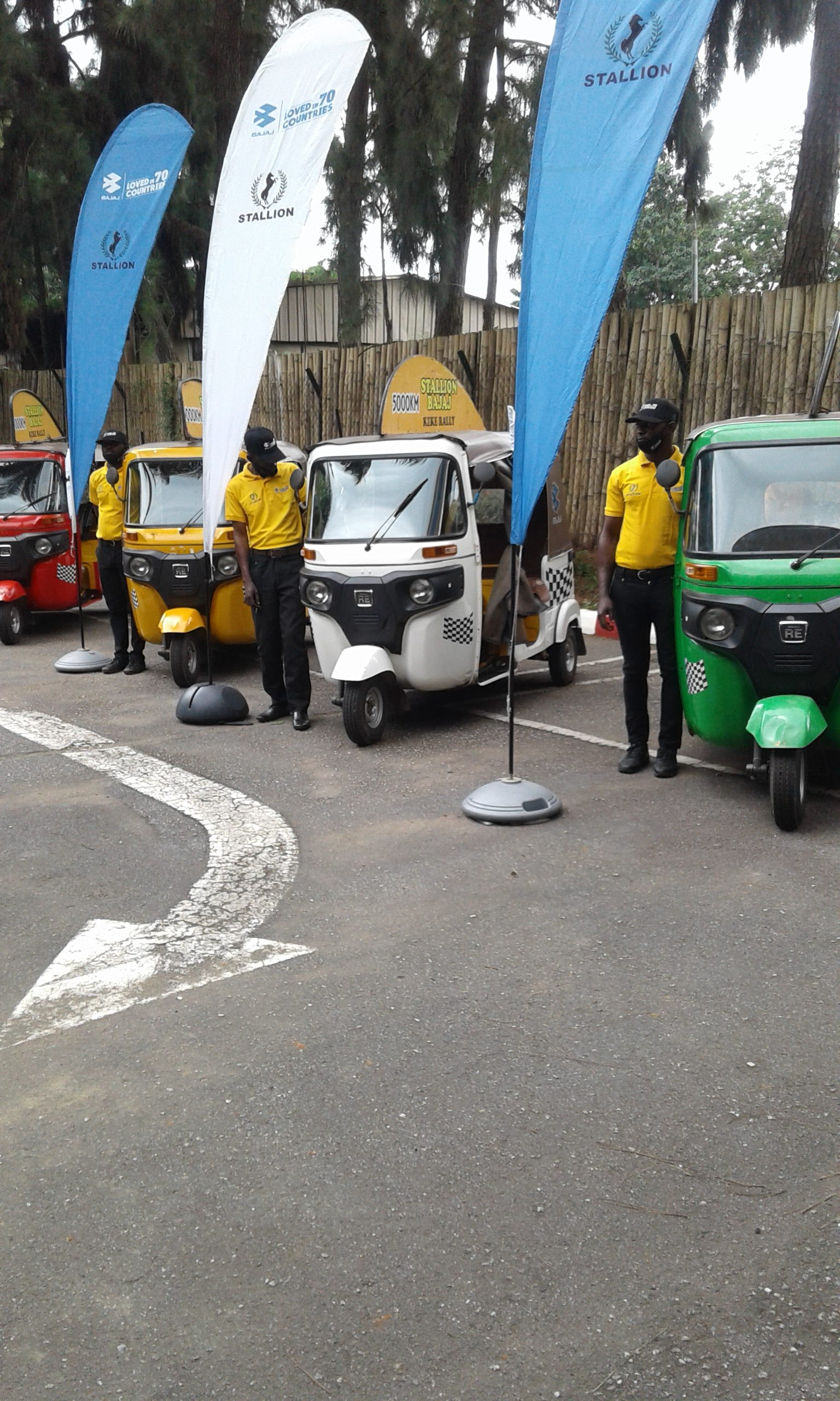 Stallion Bajaj Hold First Ever 'Keke Rally'  In Nigeria, Assure Customers On Product Quality
