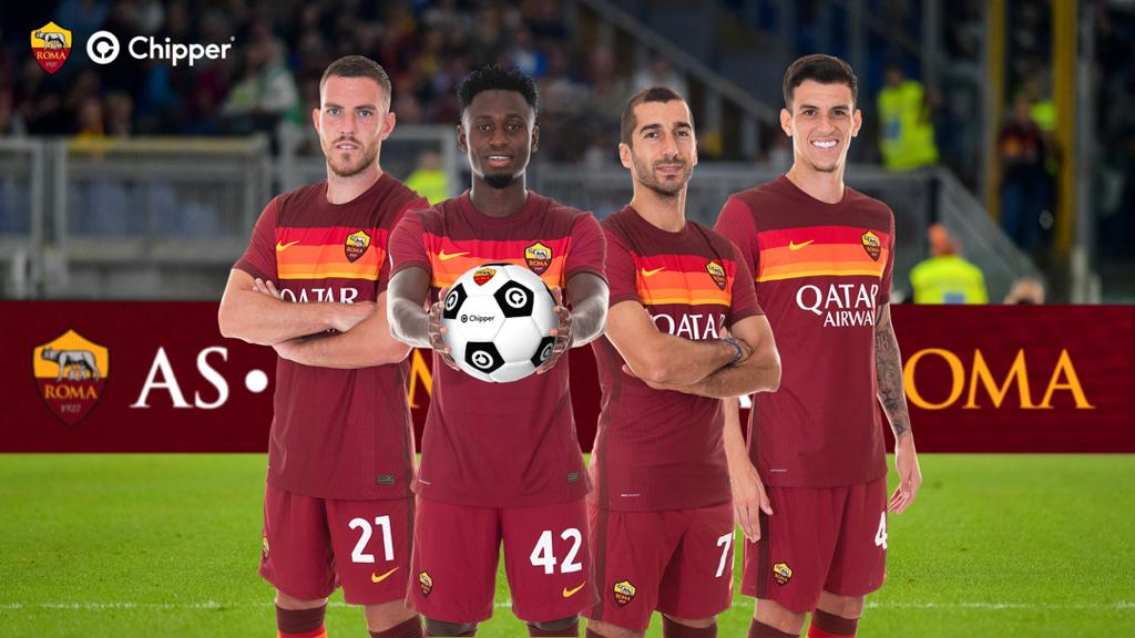 AS Roma, Chipper Announce Partnership To Drive Impact In Africa