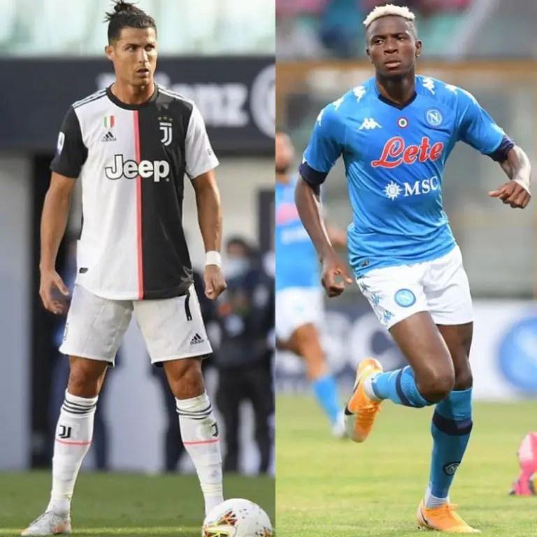 Ronaldo Vs Osimhen As Juventus Host Napoli In 2020/21 Serie A Matchday-3