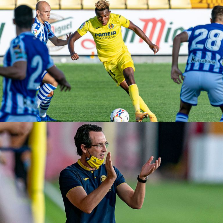 Chukwueze Fitter As Villarreal Important Player; Club, Emery Applaud