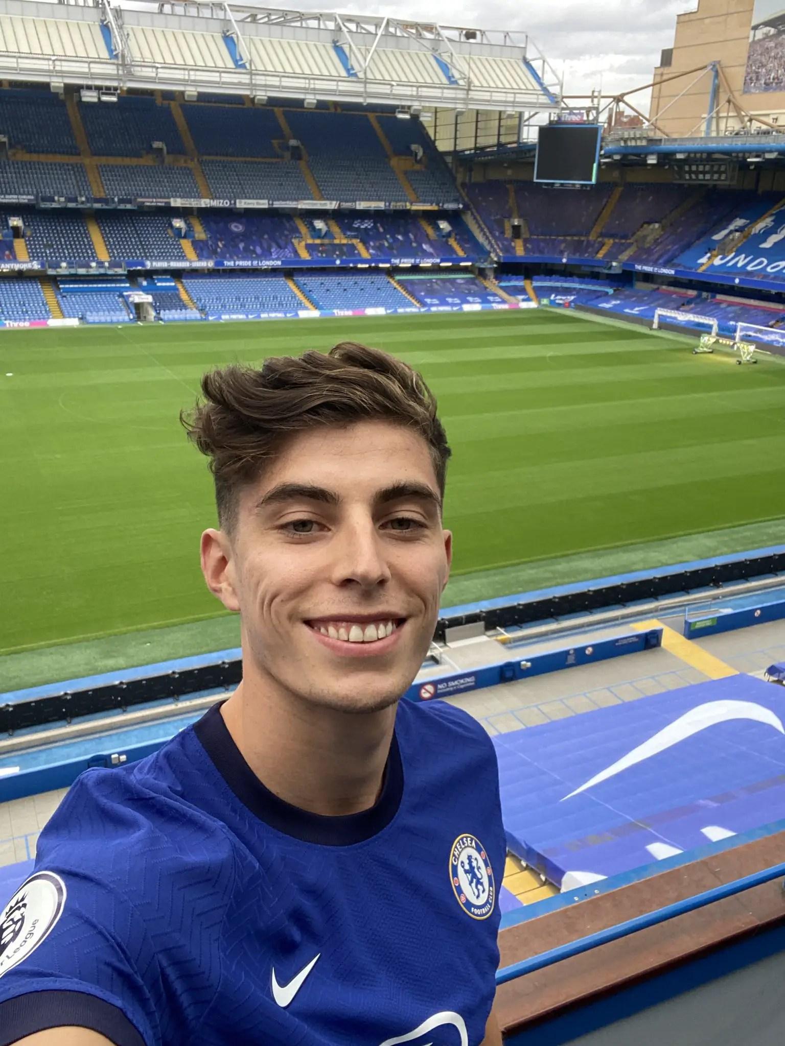 Havertz: Joining Chelsea Is Dream Come True
