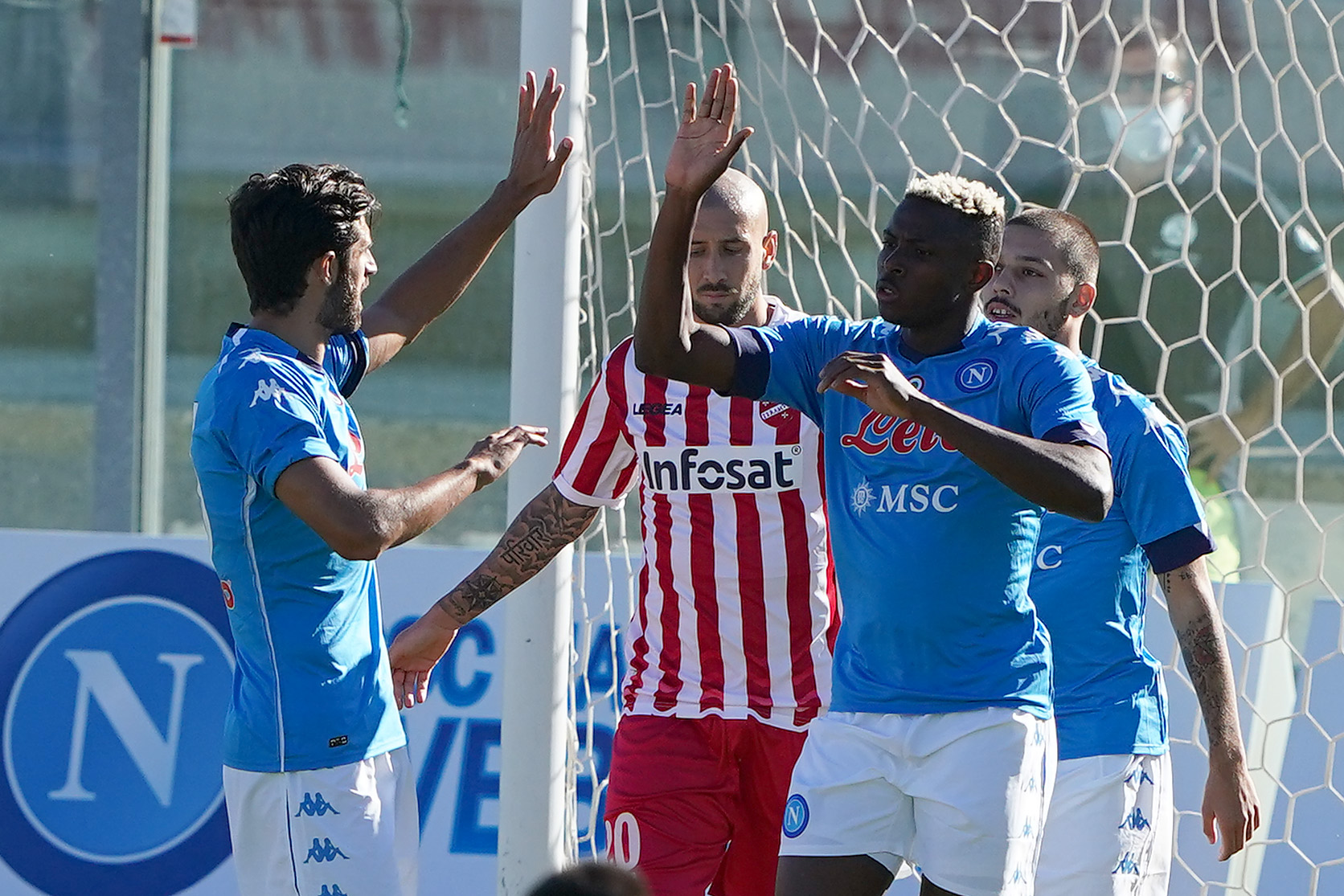UEFA Hails Osimhen After Second Hat-trick For Napoli