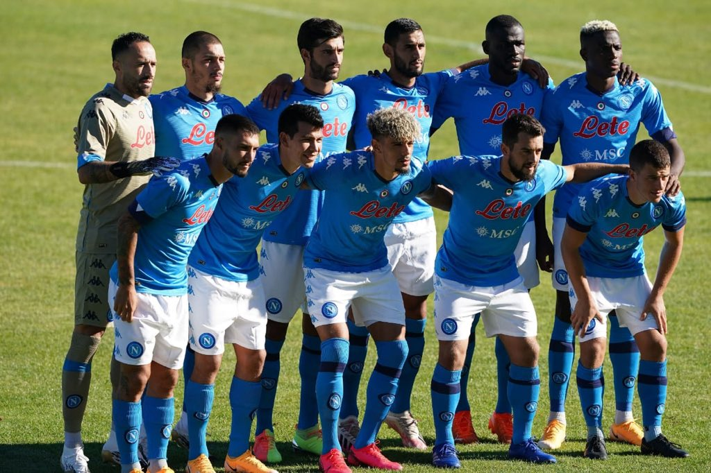 Osimhen, Teammates On  Alert As Napoli President Tests Positive For Covid-19