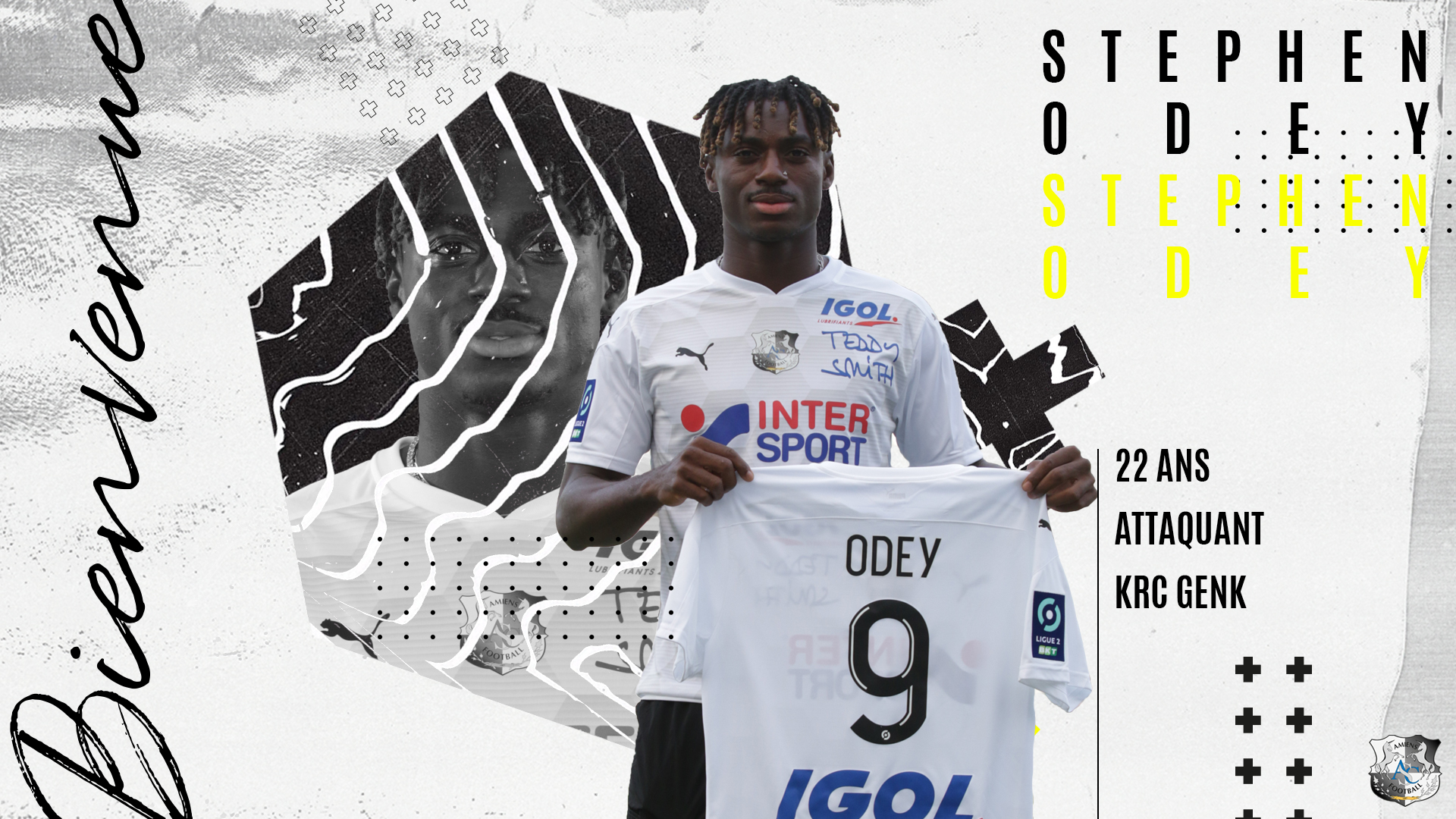 OFFICIAL: Odey Joins French Ligue 2 Club Amiens SC On Loan