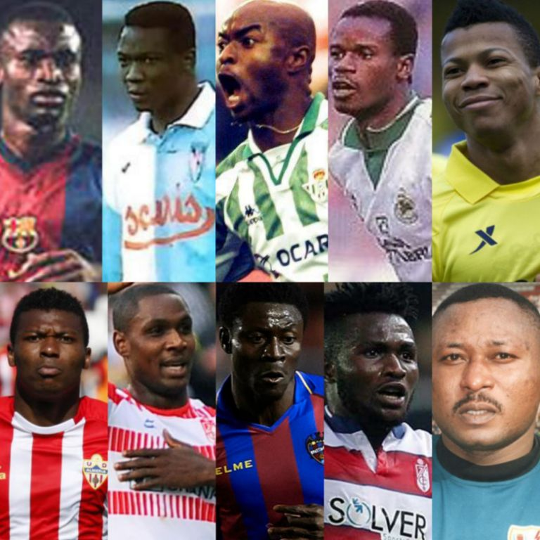 Top 10 Nigerian Performers In Laliga History