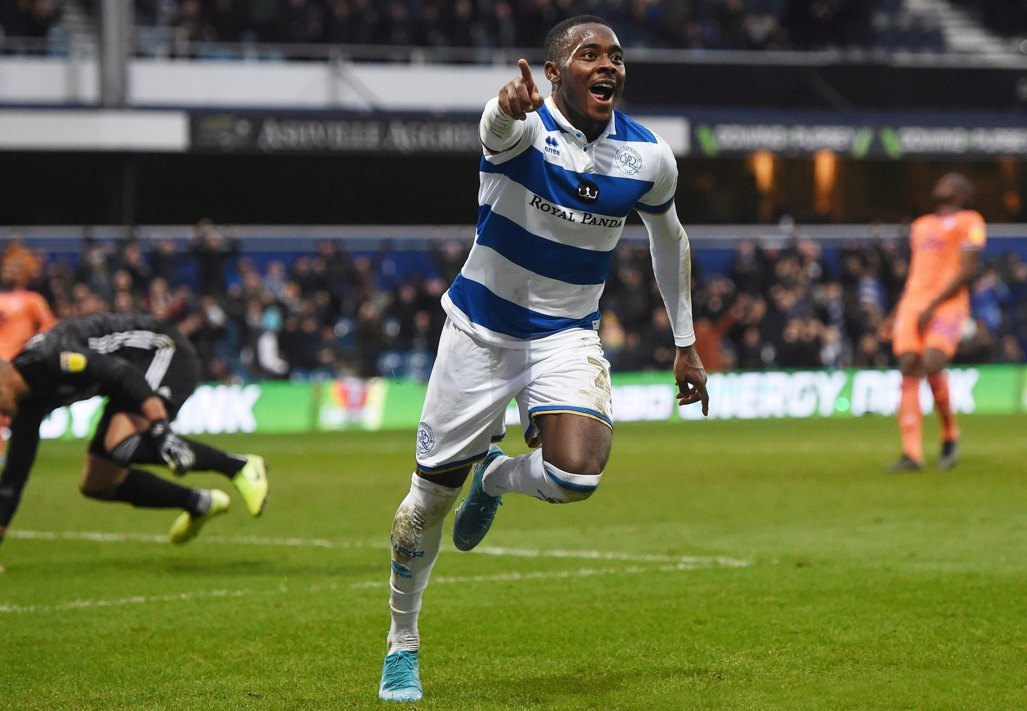 QPR Coach Warburton Mocks Osayi-Samuel Transfer Rumours