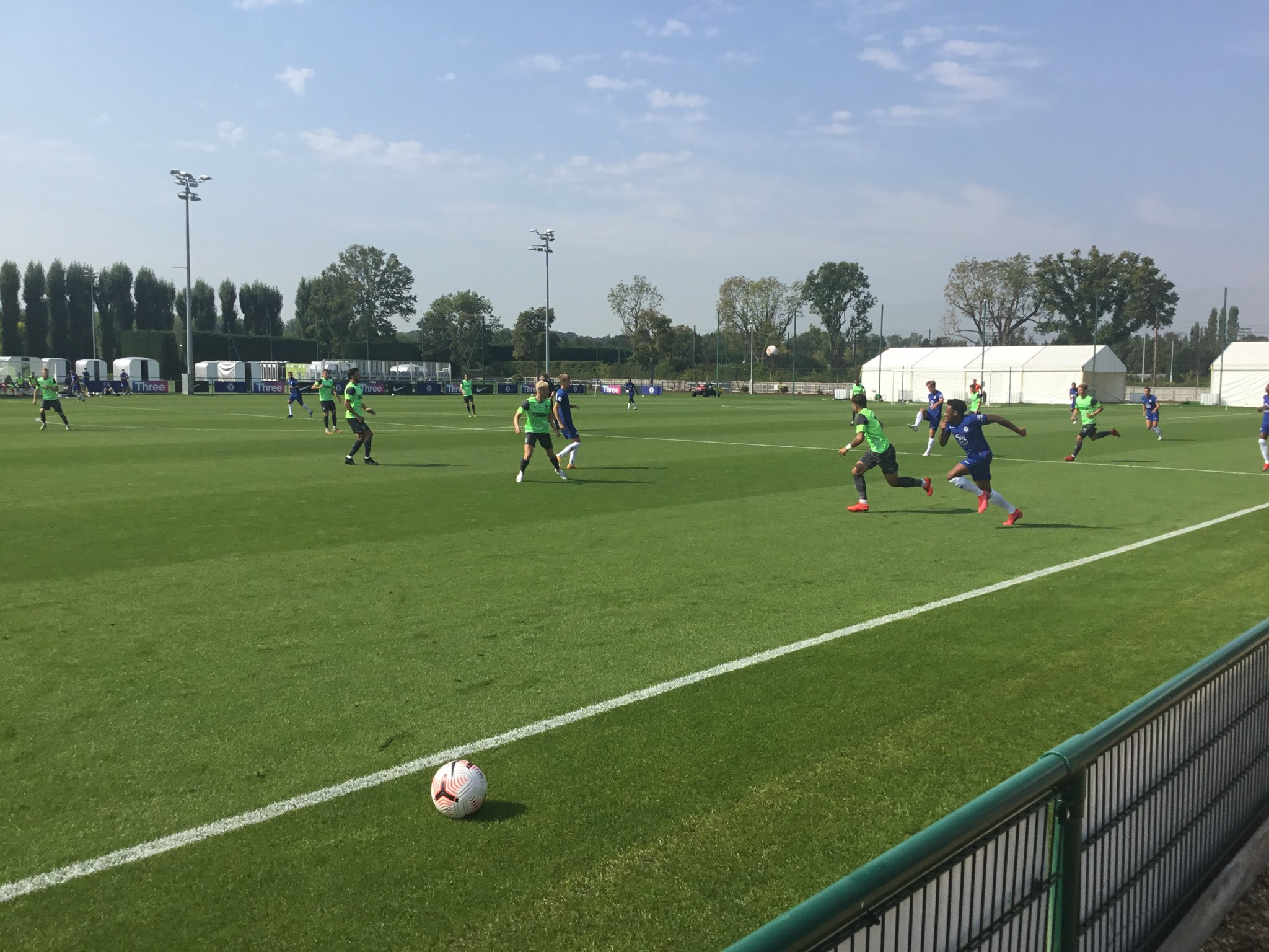 Moses On Target As Chelsea Hold Wimbledon In Friendly