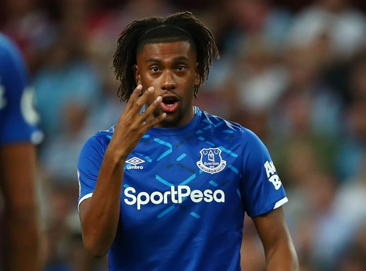 Iwobi Happy With New Arrivals At Everton