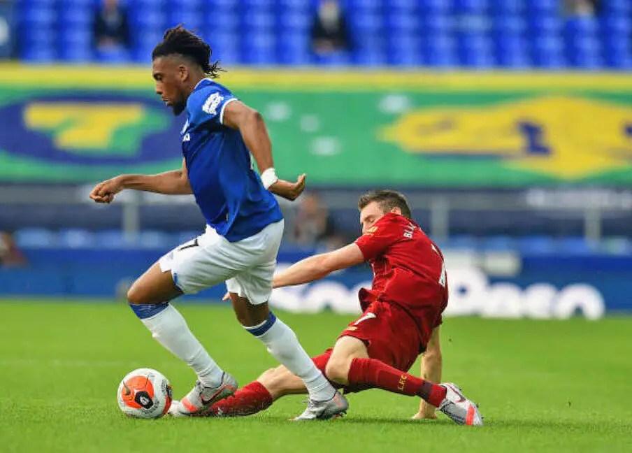 Ikpeba: Iwobi Deserves Everton Starting Spot, But No Longer In Ancelotti's Plans