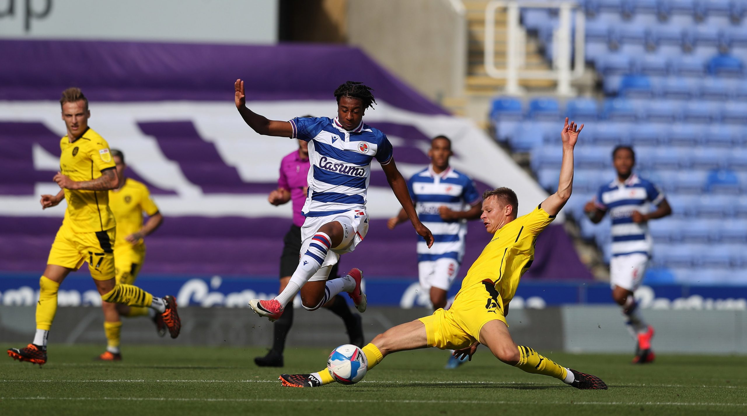 Championship: Ejaria, Aluko In Action For Reading; Dele-Bashiru, Success Missing
