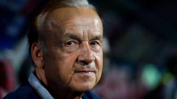 Rohr Speaks On 'Defensive' Cape Verde, Playng On Artificial Turf, Missing Key Players