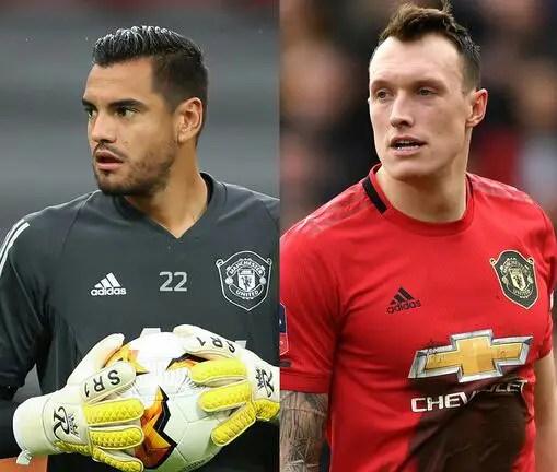 Romero, Jones Left Out Of Man United's Premier League Squad