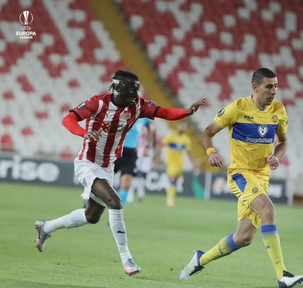 Europa League: Kayode On Target In Sivasspor Home Loss; Chukwueze Provides Assist As Villarreal Win Away