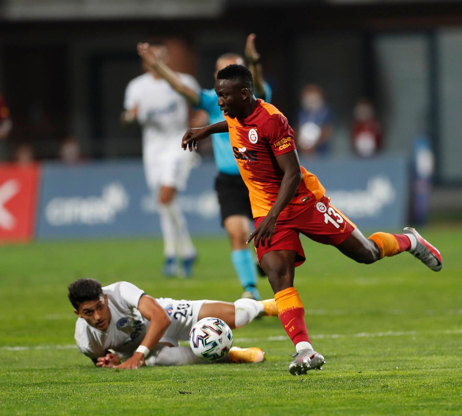 Etebo Disappointed With Galatasaray Defeat To Kasimpasa