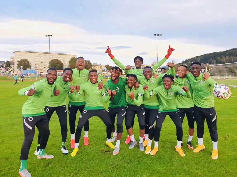 Eagles Training Report: Musa Bags Brace, Onuachu, Tijani Also On Target