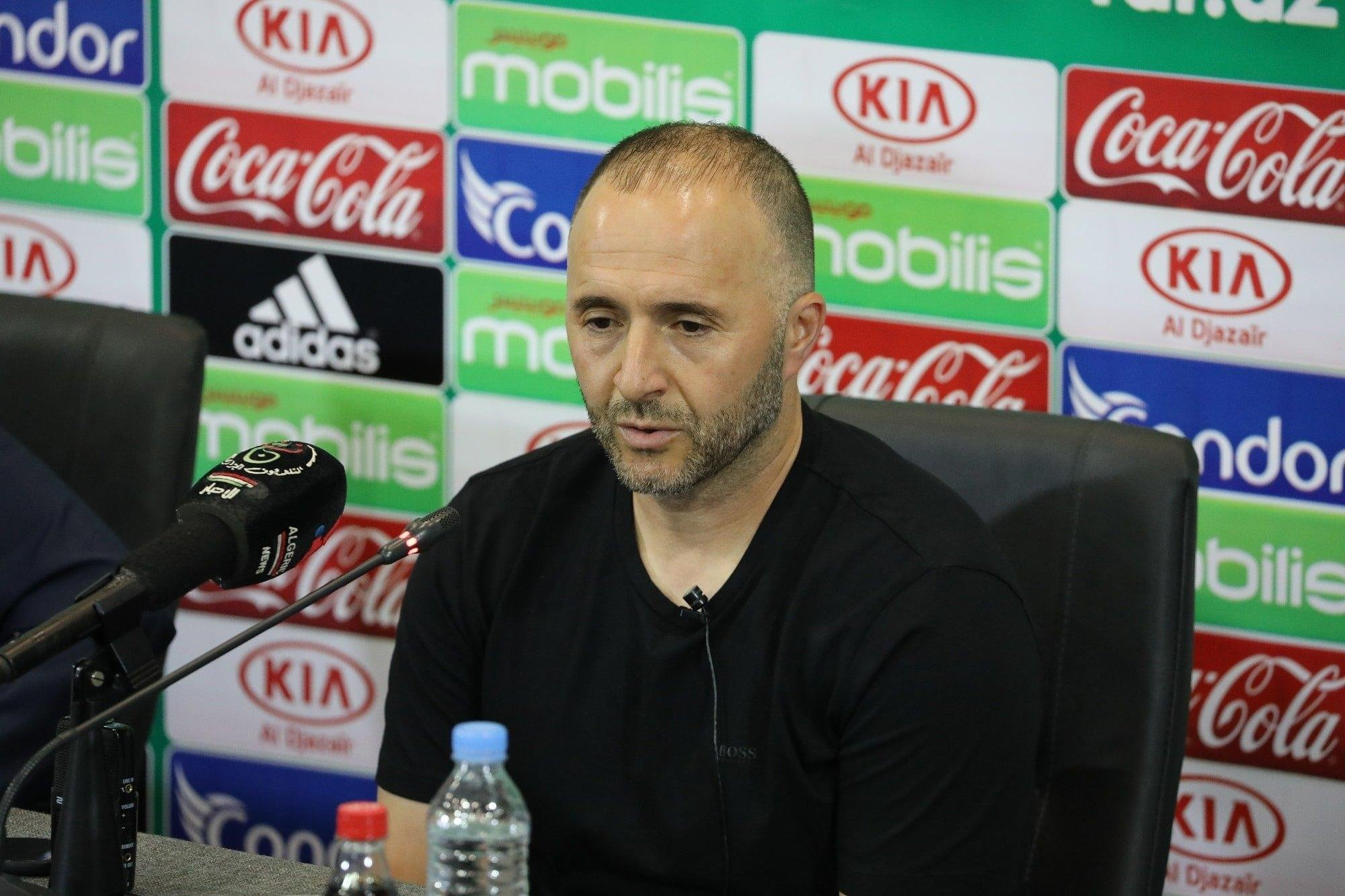 Algeria Coach Belmadi:  Always Difficult To Play Against  Super Eagles
