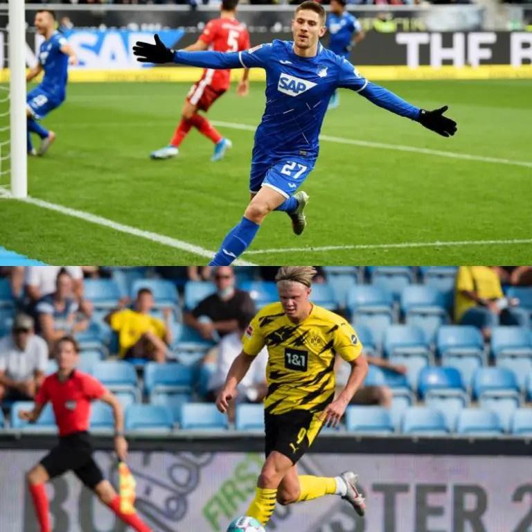 Bundesliga Matchday-4: Top Scorers Haaland, Kramaric Go Head-To-Head As Hoffenheim Host Dortmund
