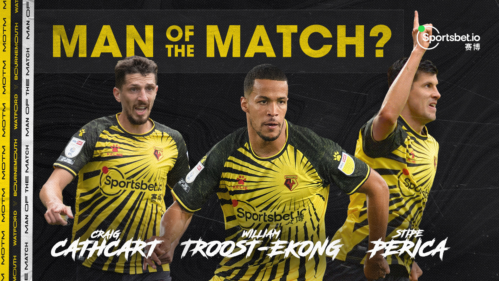 Troost-Ekong Nominated Again For Watford Man Of The Match Award
