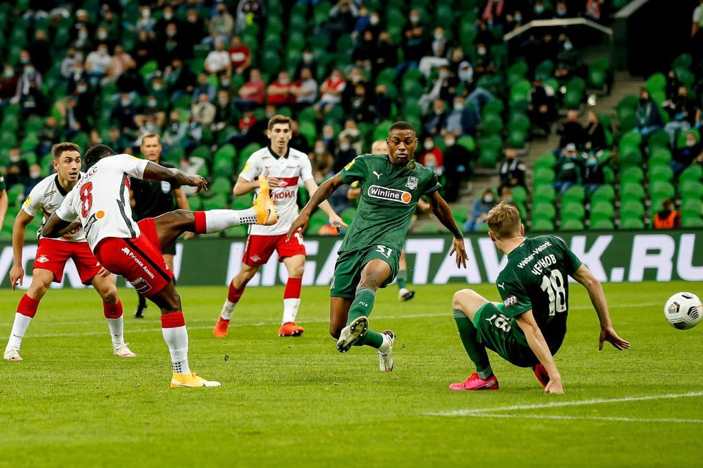Moses Dedicates First Spartak Moscow Goal To End Sars Protesters