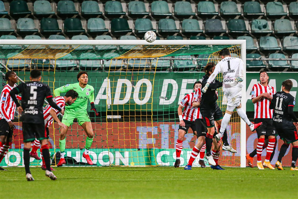 Okoye In Action As Sparta Rotterdam Crash Out Of Dutch Cup