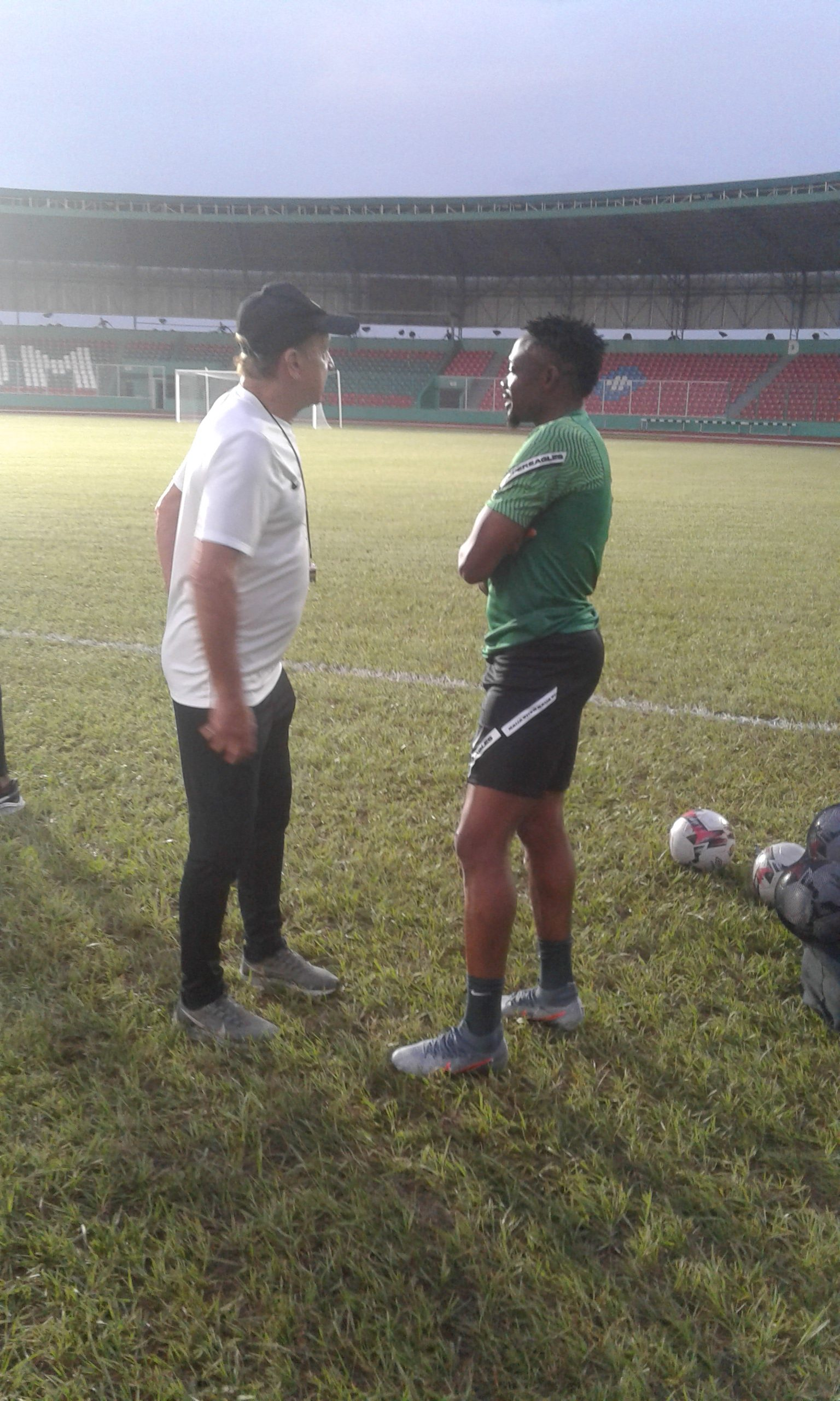 Amuneke Faults Rohr On Musa's Invitation For AFCON Qualifiers