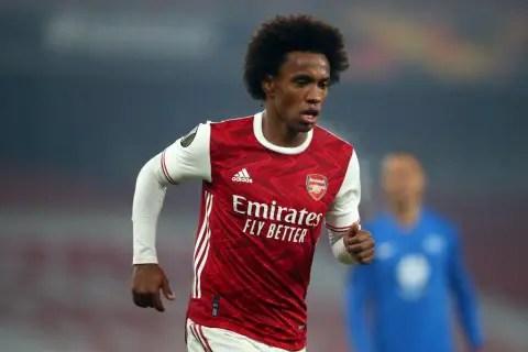 Arteta Explains Why Willian Has Struggled At Arsenal