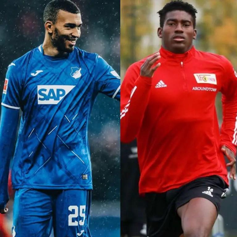 Akpoguma, Awoniyi Clash As Hoffenheim Host Union Berlin In Bundesliga Matchday-6 Tie