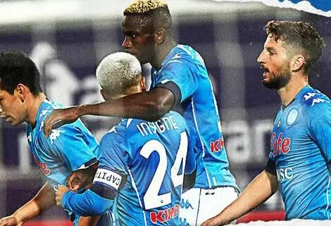 Serie A: Osimhen's Goal Seals Away Win For Napoli At Bologna