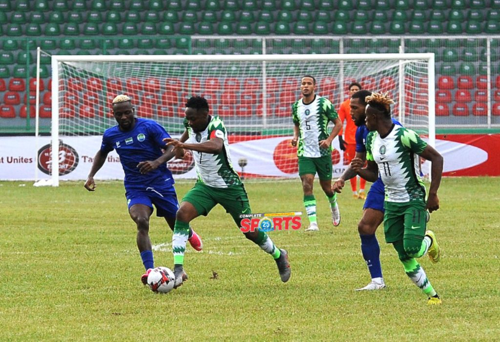 Sports Minister, Dare To Super Eagles: 'Only A Win In Freetown Will Be Acceptable'