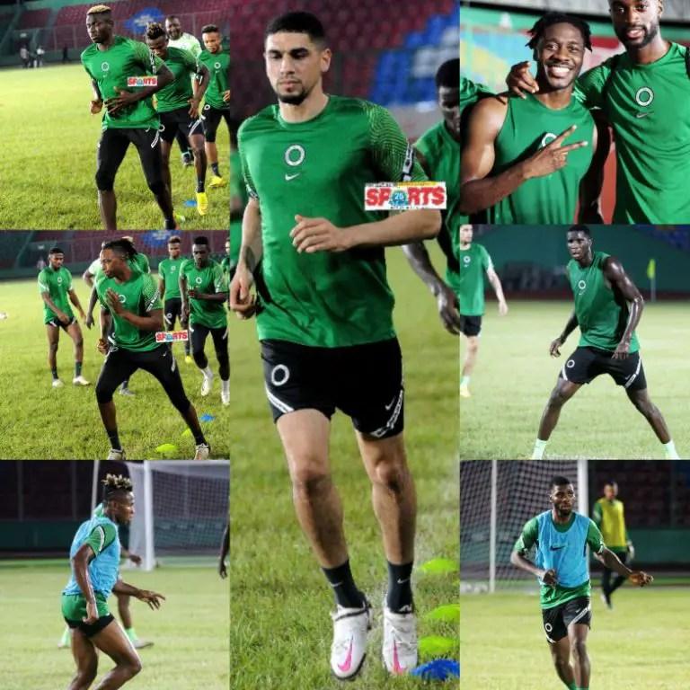 Super Eagles' Fantastic 7 For AFCON 2021 Qualifiers Vs  Leone Stars