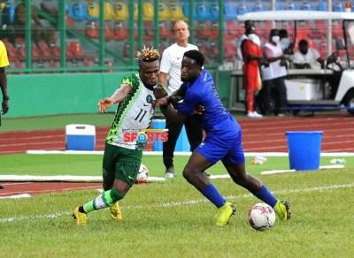 samuel-chukwueze-nwankwo-kanu-super-eagles-leone-stars-sierra-leone-samuel-ogbemudia-stadium-benin-city-tijani-babangida