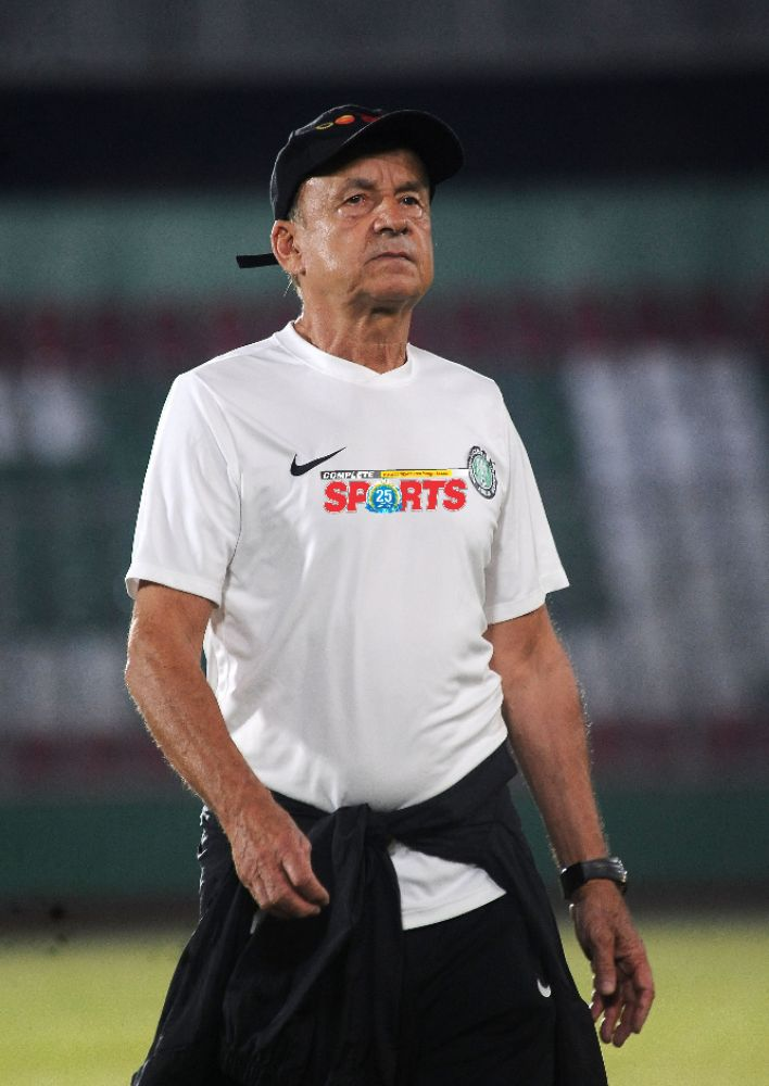 Pinnick: Under-Fire Rohr Won't Be Sacked