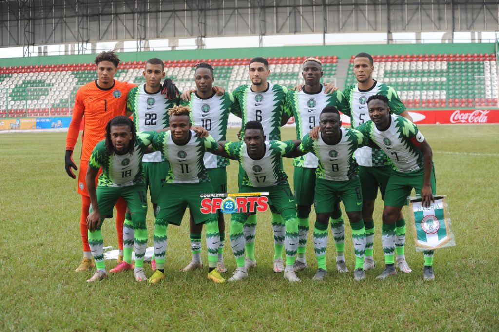 CAF Okays 10,000 Fans To Watch Nigeria vs Lesotho Game