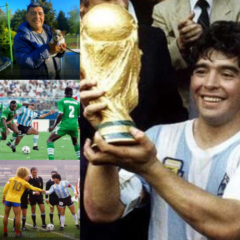Odegbami: Maradona – The Gift Of The gods!