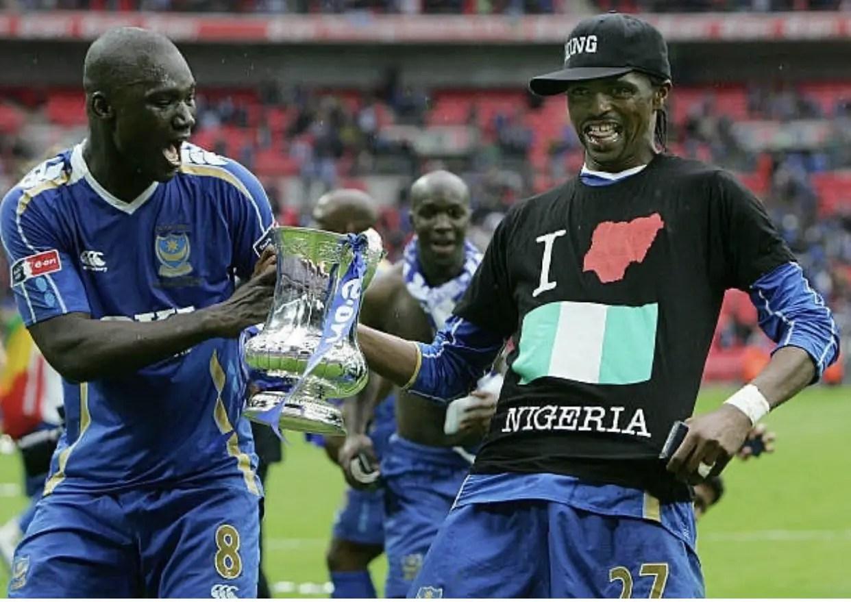 Kanu, Oliseh, NFF, FIFA  Mourn Bouba Diop