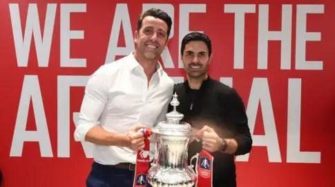 Arsenal Technical Director, Edu: Arteta Doing A Great Job