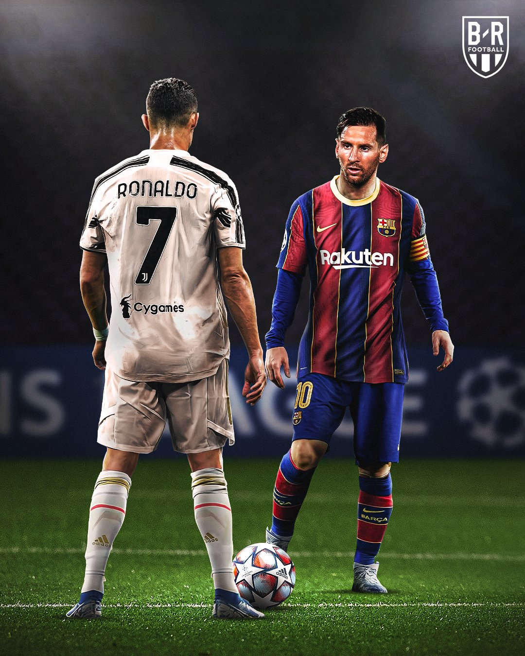 Messi Ready To Face Ronaldo In Champions League