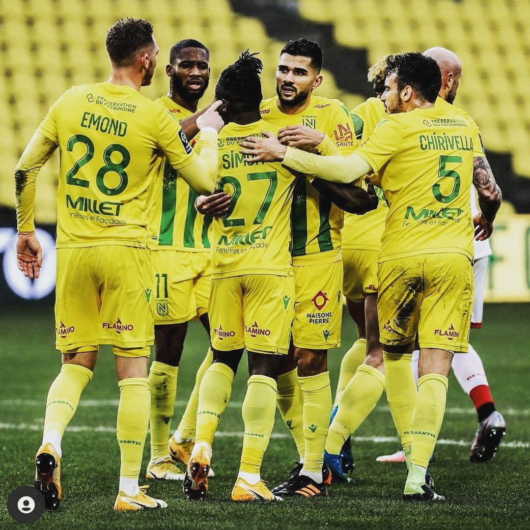 'Good Fight From The Boys'- Moses Upbeat Nantes Will End Winless Streak