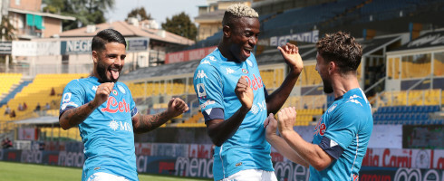 Osimhen Recovers From Shoulder Injury, Returns To Italy For Xmas