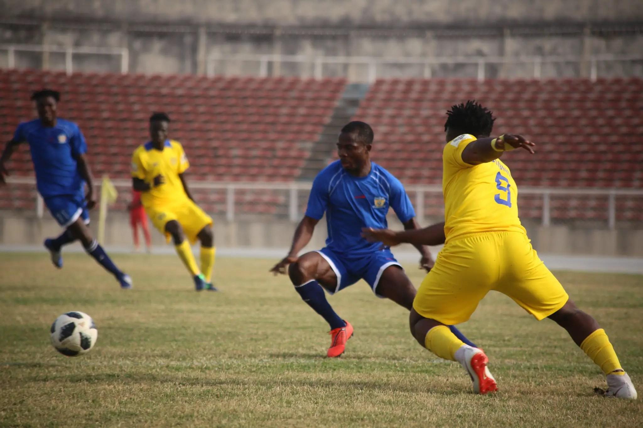 NPFL: Kwara United Pip Plateau Away; MFM Stop Warri Wolves