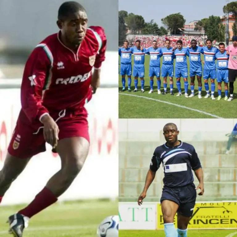 Okoroji: How I Conquered Vasto After Italy Move With Obafemi Martins, Makinwa