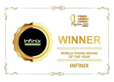 infinix-receives-mobile-phone-brand-of-the-year-award