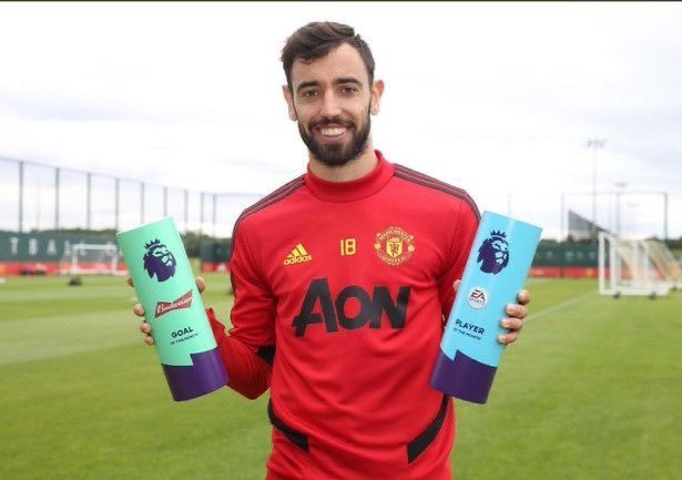 Man United's Fernandes Makes History After Winning EPL December Player Of The Month Award