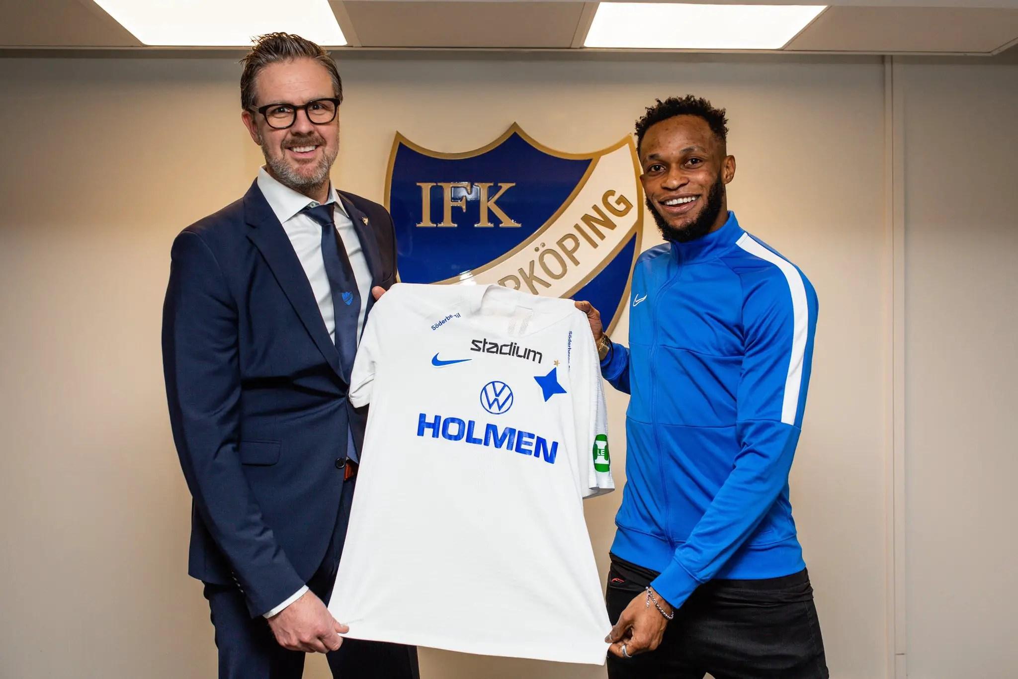 Nigeria Winger Adegbenro Joins Swedish Club IFK Norrköping