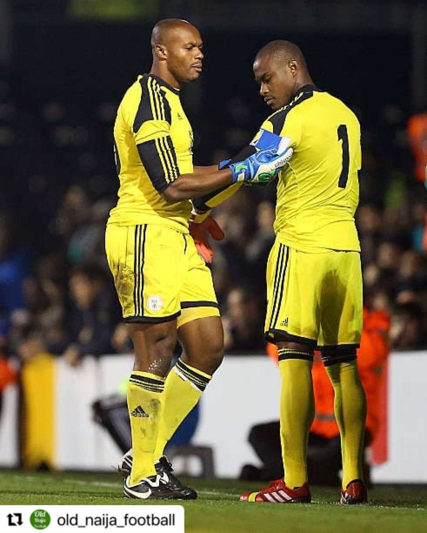 Enyeama: Ejide Contributed To Me Being One Of The Best Goalkeepers In The World