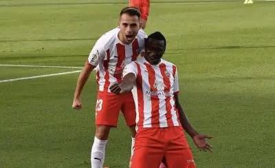 Sadiq Bags Brace As Almeria Thrash Alaves In Copa del Rey Clash