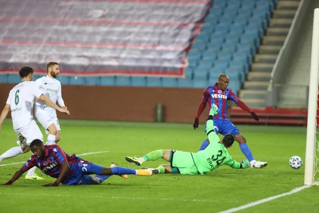 Turkey: Nwakaeme Scores, Grabs Assist As Trabzonspor Beat Konyaspor