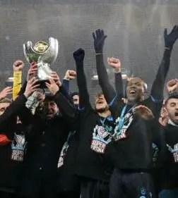 Nwakaeme Helps Trabzonspor Beat Okechukwu's Istanbul Basaksehir To Win Turkish Super Cup
