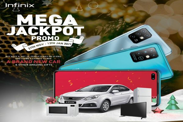 Infinix Is Giving Out A Brand New Car In 1 Week: Join The Mega Jackpot Now To Win
