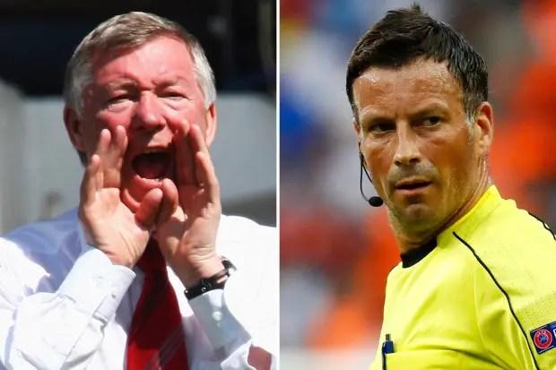 Clattenburg: Referees Use To Favour Man United Under Ferguson